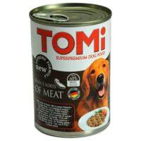 کنسرو سگ تامی با طعم پنج نوع گوشت