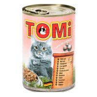 کنسرو گربه تامی با طعم گوشت گوساله