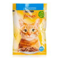 پوچ گربه فریسکیز با طعم ماهی سالمون