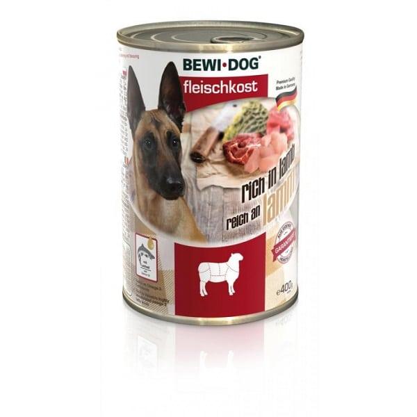 کنسرو سگ بالغ بوی داگ با طعم گوشت بره