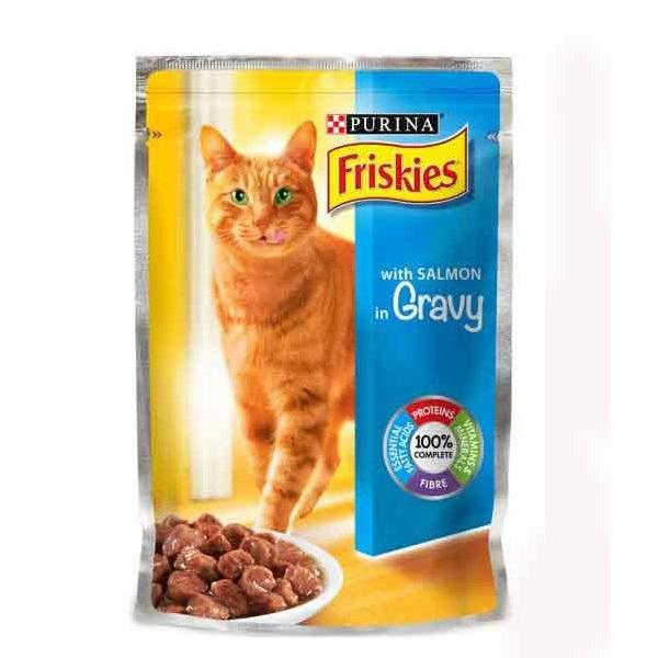 سوپ گربه بالغ فریسکیز با طعم ماهی سالمون