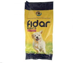 غذای خشک سگ فیدار پاتیرا