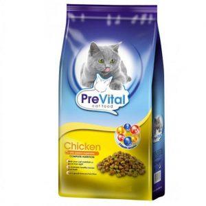 غذای خشک گربه بالغ طعم مرغ پریویتال