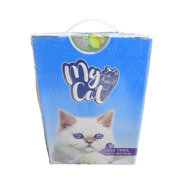 خاک گربه مایکت با رایحه لیمو وزن 4 کیلوگرم
