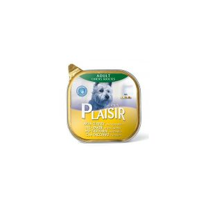 خوراک کاسه ای سگ پلازیر با طعم بوقلمون و سبزیجات