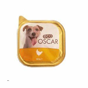 خوراک کاسه ای سگ اکو اسکار با طعم مرغ