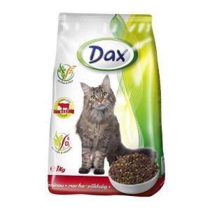 غذای خشک گربه داکس با طعم گوشت گاو