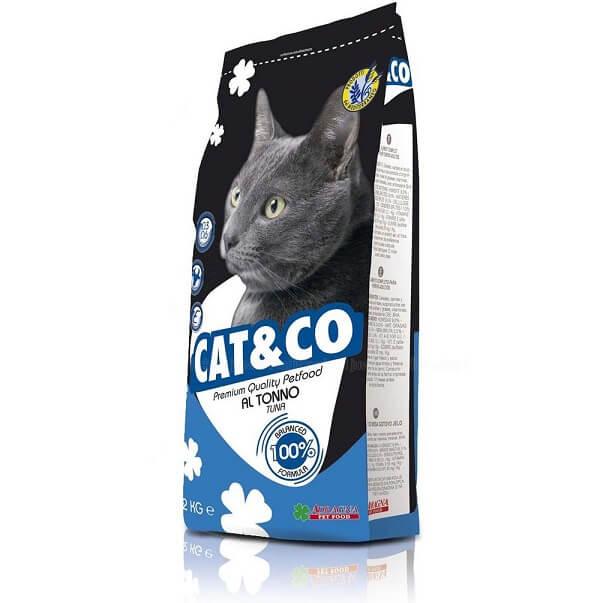غذای خشک گربه کت اند کو با طعم ماهی