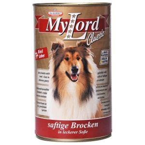 کنسرو سگ مای لرد با طعم گوساله و جیگر