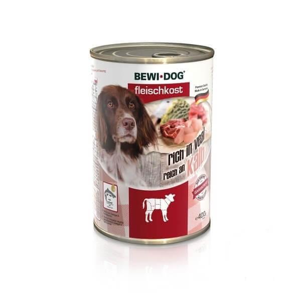 کنسرو سگ بوی داگ با طعم گوساله