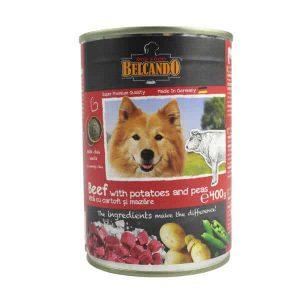 کنسرو سگ بالغ بلکاندو با گوشت و سبزیجات
