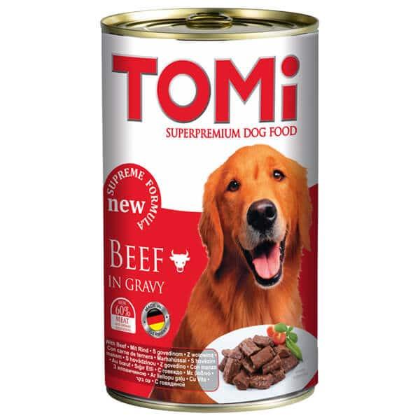کنسرو سگ تامی با طعم بیف