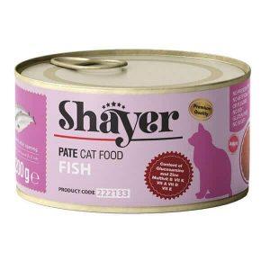 کنسرو پته گربه شایر با طعم ماهی