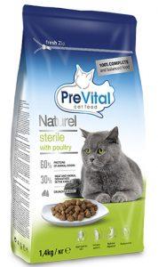 غذای خشک گربه پری ویتال