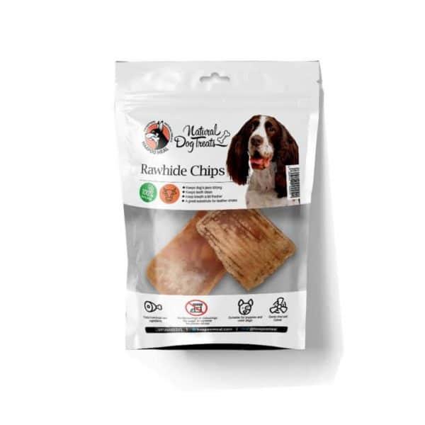 تشویقی سگ داگ تریتز مدل چیپس پوشت گاو