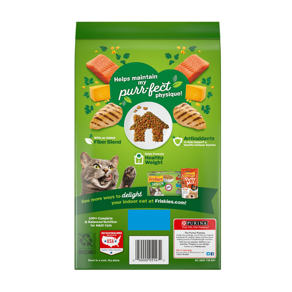 غذای خشک گربه بالغ فریسکیز با طعم مرغ و ماهی سالمون _ Friskies