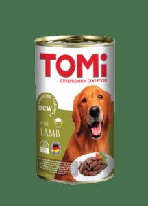 کنسرو سگ تامی با طعم بره