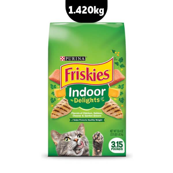 غذای خشک گربه بالغ فریسکیز با طعم مرغ و ماهی سالمون