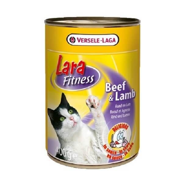 کنسرو گربه ورسل لاگا با طعم گوشت گاو و بره
