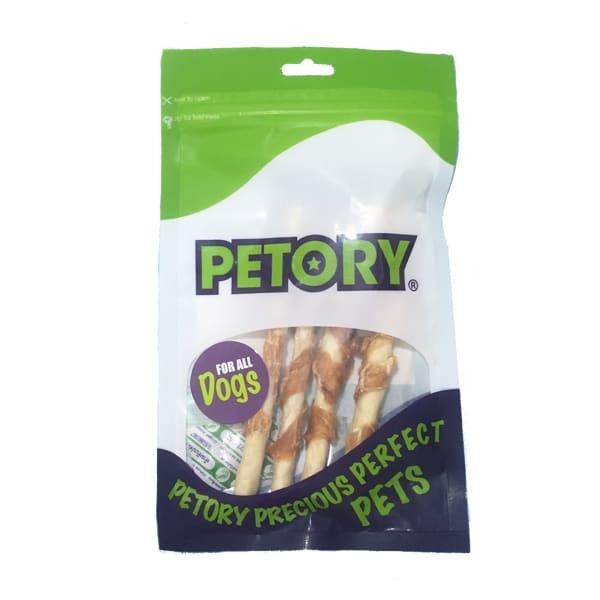 تشویقی سگ پتوری با طعم استیک و مرغ