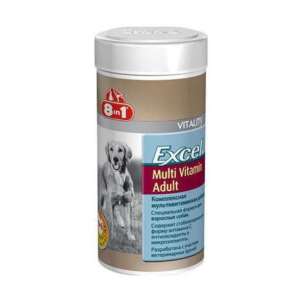 قرص مولتی ویتامین مخصوص سگ