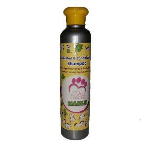 شامپو ویتامینه ضدقارچ مخصوص سگ و گربه مارلو