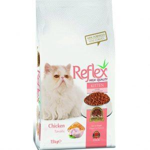 غذای خشک بچه گربه رفلکس باطعم مرغ