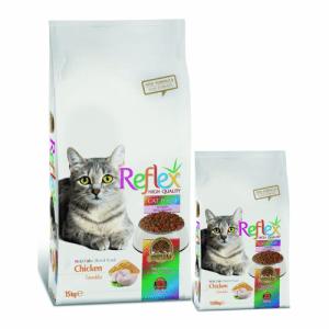 غذای خشک گربه بالغ رفلکس باطعم مرغ