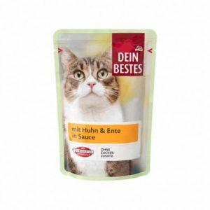 پوچ گربه دین بستس با طعم بوقلمون و مرغ