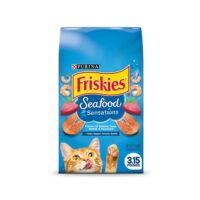 غذای گربه فریسکیز با طعم غذاهای دریایی