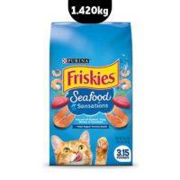 غذای خشک فریسکیز با طعم ترکیب غذاهای دریایی