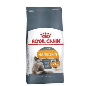 غذای خشک گربه مخصوص پوست و مو رویال کنین