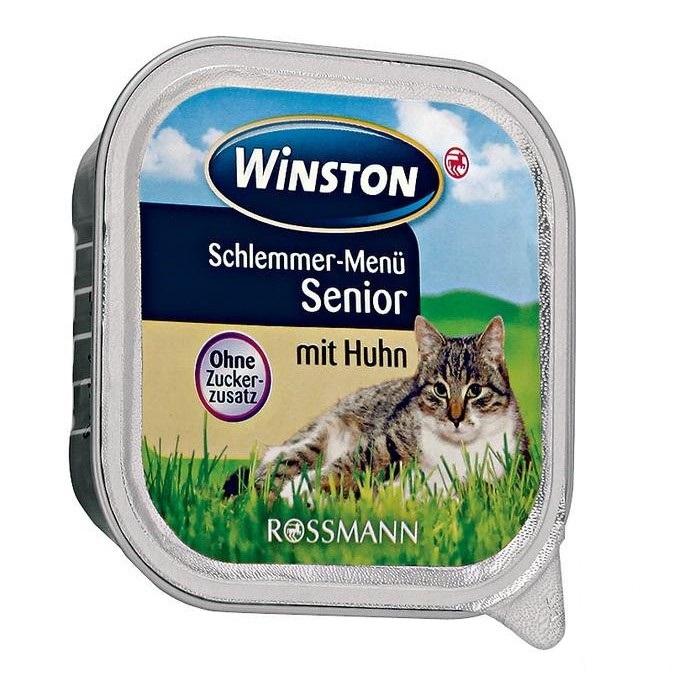 ووم گربه وینستن با طعم مرغ
