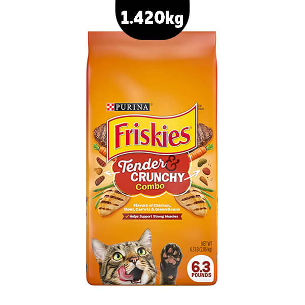 غذای خشک گربه فریسکیز مدل Tender & Crunchy Combo