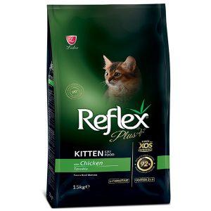 غذای خشک بچه گربه رفلکس پلاس مرغ