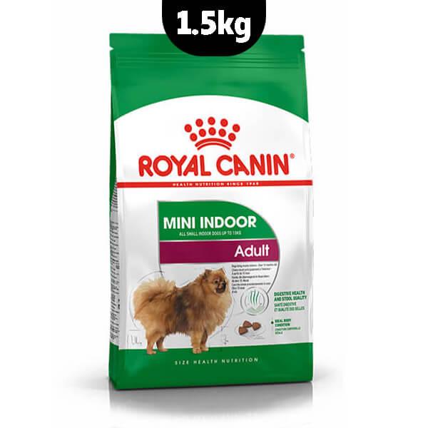 غذای خشک سگ mini indor adult رویال کنین