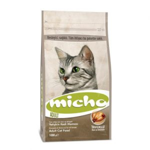 غذای خشک گربه میچو طعم مرغ