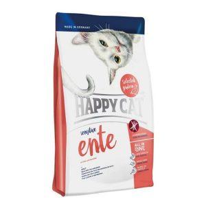 غذای خشک گربه حساس-Happycat