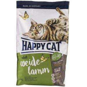 غذای خشک گربه هپی کت با طعم گوشت بره