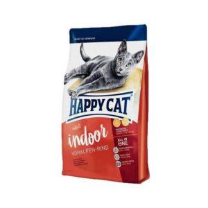 غذای خشک گربه باطعم گوشت-Happycat