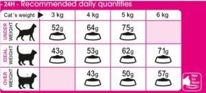 غذای گربه پروتئین اگزیجنت