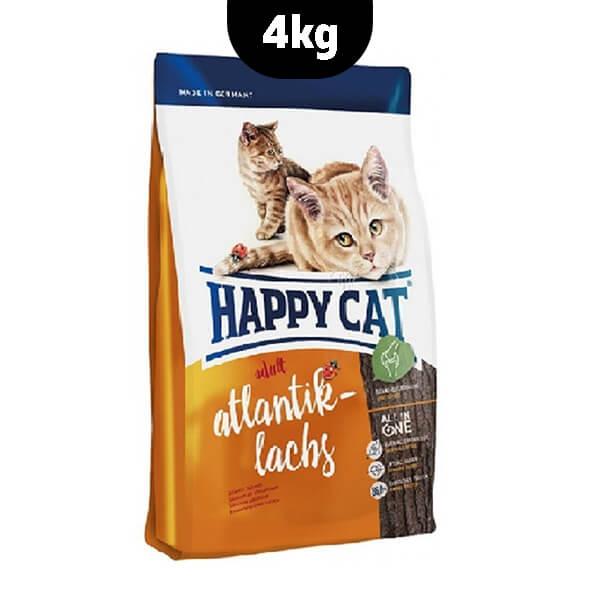 غذای خشک گربه ماهی سالمون آتلانتیک هپی کت