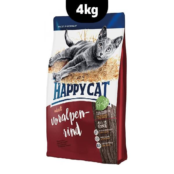 غذای خشک گربه با طعم گوساله هپی کت
