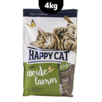 غذای خشک گربه با طعم گوشت بره هپی کت