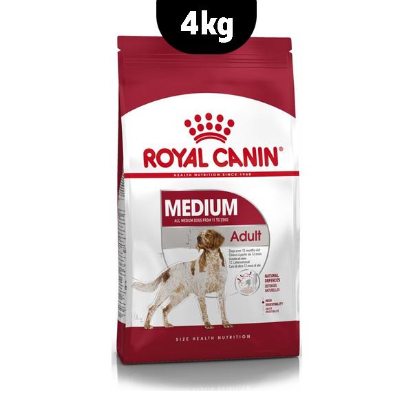 غذای خشک سگ مدیوم ادالت رویال کنین _ 4kg