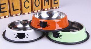 ظرف غذای استیل گربه