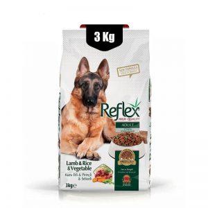 غذای خشک سگ بالغ رفلکس گیاهی