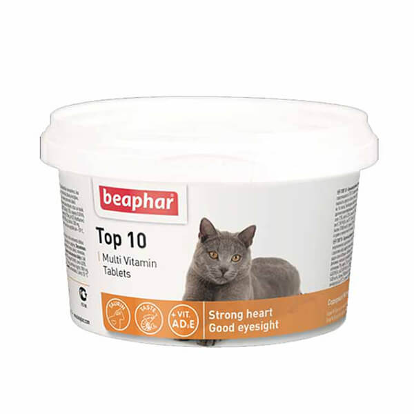 مولتی ویتامین بیفار برای گربه