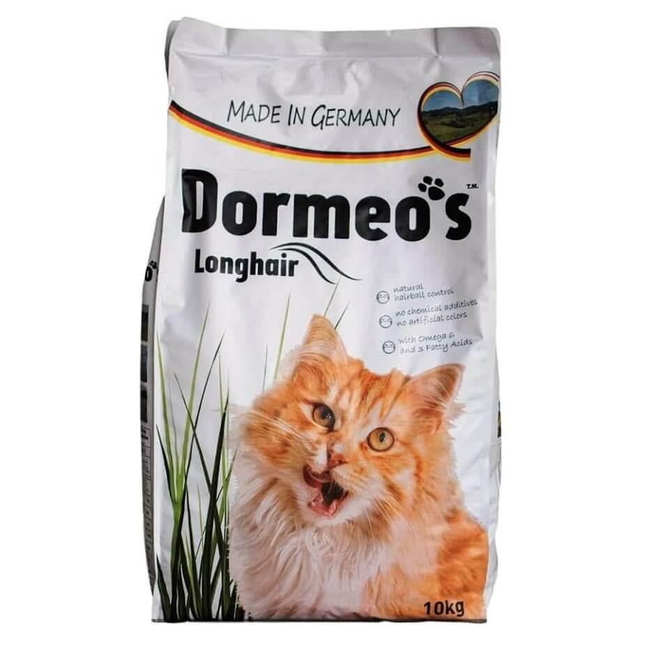 غذای خشک گربه بالغ مو بلند دورمئو