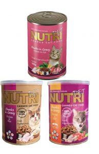 غذای کنسروشده گربه نوتری پت